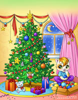 Book 1: Christmas decorations by Aniel-AK