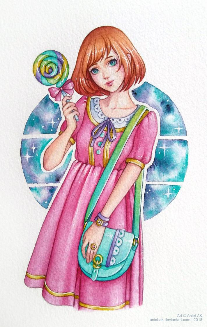 Lollipop Girl by Aniel-AK