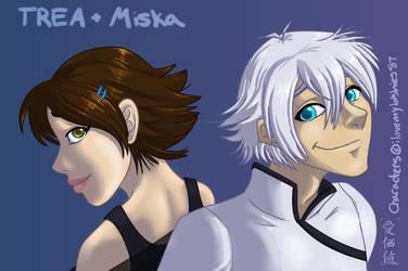 TREA and Miska by Aikachi02
