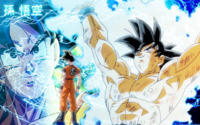 Dragonball Kai Goku Desktop by Aikachi02