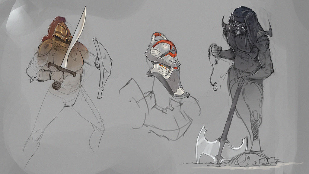 RSketches - June 2017 by VictorLafaye