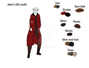 ade og outfit ref WIP