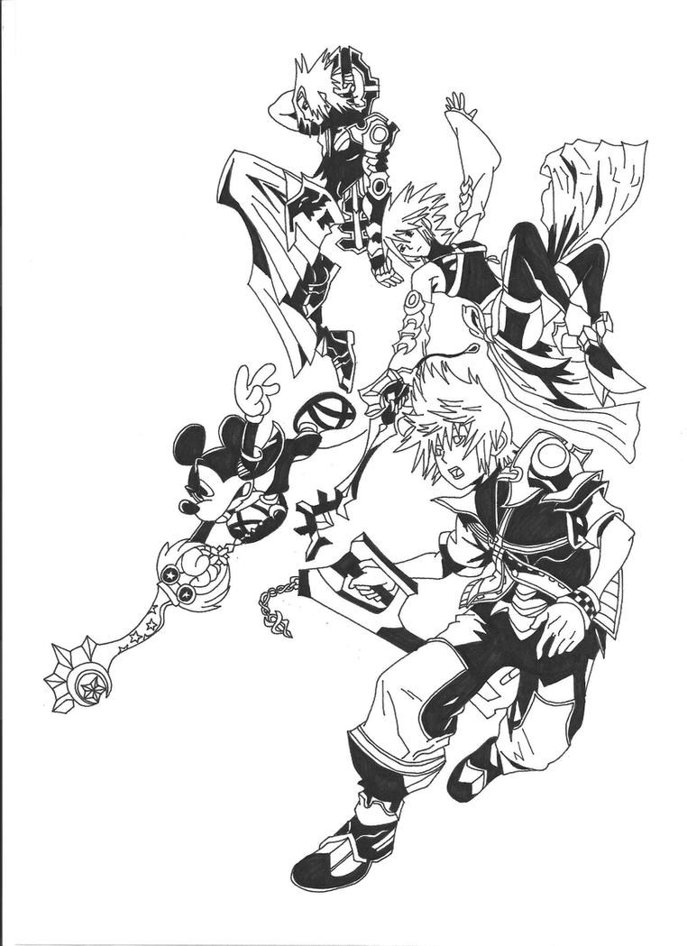 Coloring pages kingdom hearts - Kingdom_hearts_birth_by_sleep_by_hollowfer D3lmho8 Kingdom Hearts Concept Art 1 On Kingdom Hearts Concept Art