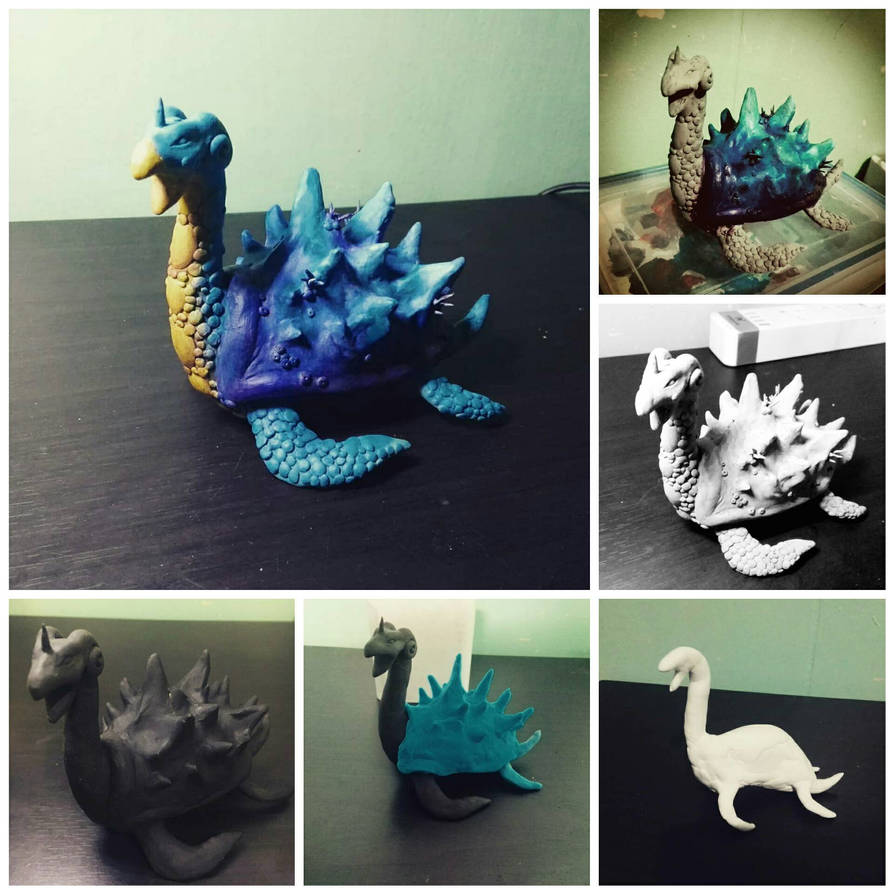 Lapras Sculpture by ixidor123