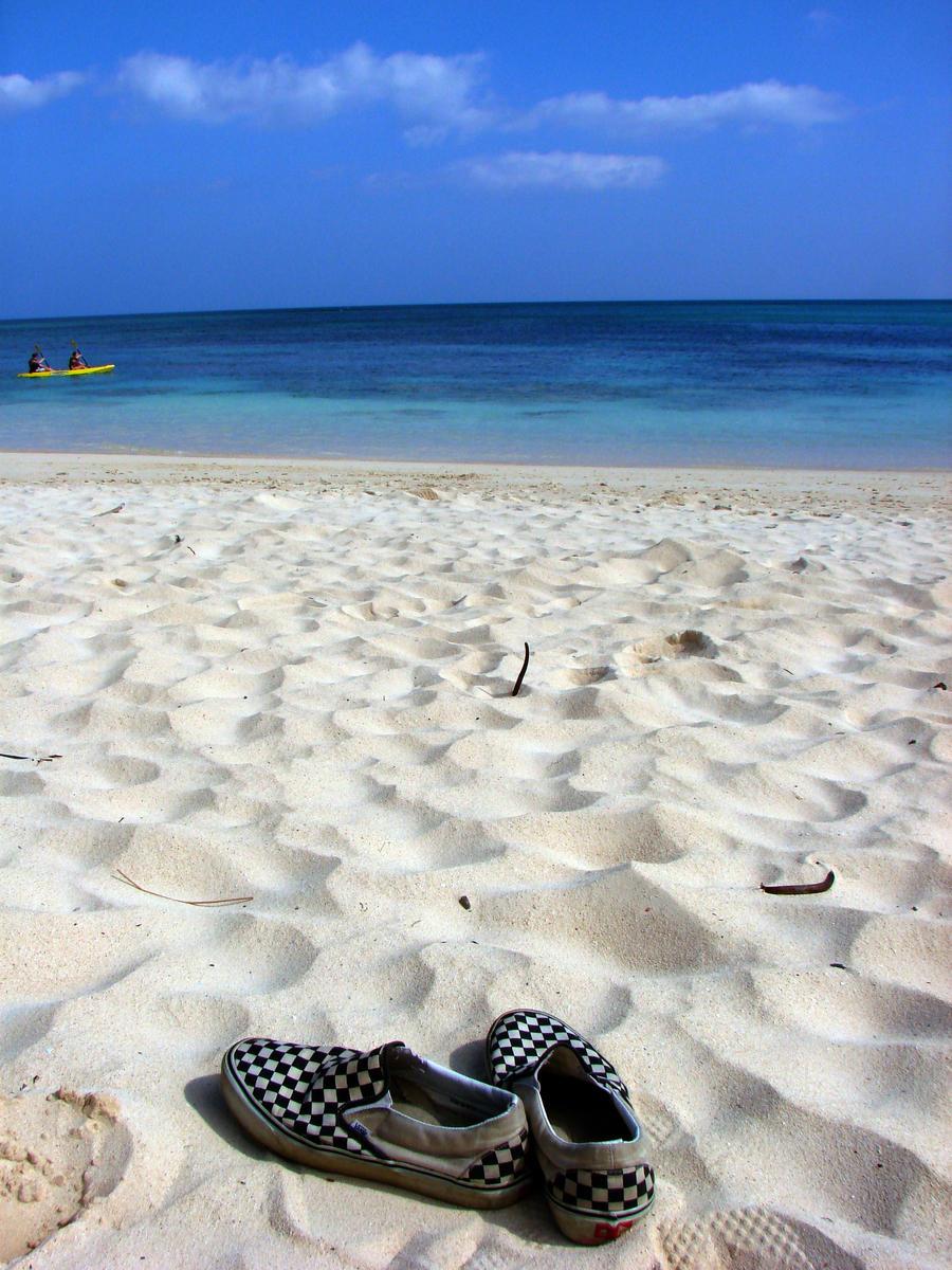 Rebel Beach Bum by icarus-divinity