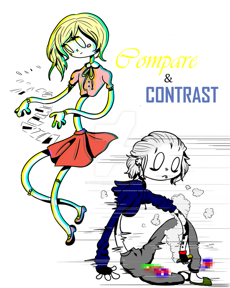 Compare and Contrast [Cover] by 24WildHeart
