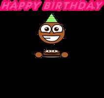 My happy birthday card by Pancakedude