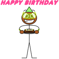 My happy birthday card (2020) by Pancakedude