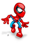 Here comes Spidey