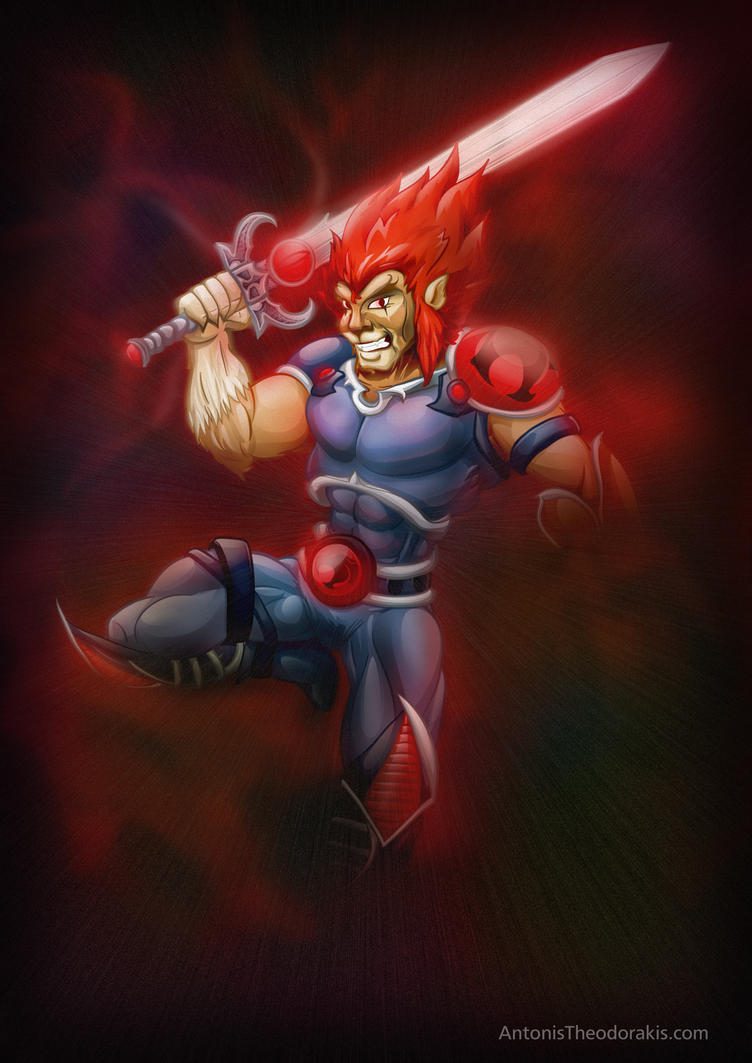 Lion-o - Thundercats by antonist