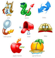 VCDC icons by antonist