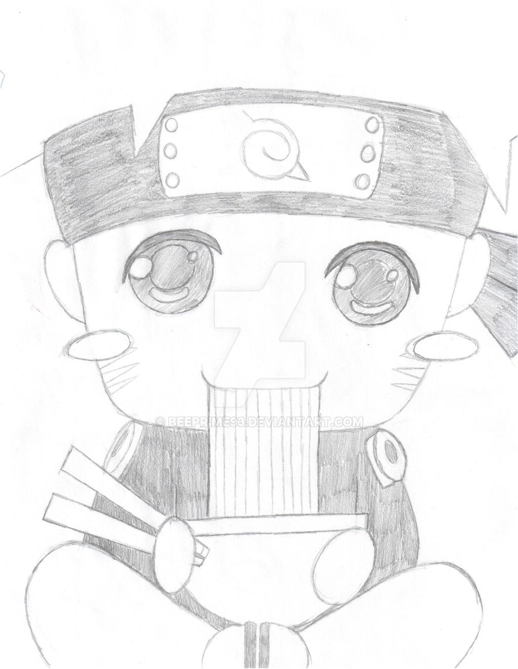Chibi naruto pencil by beeprime93 on deviantart