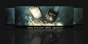 SE k810i signature by BARTIK13
