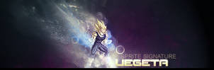 Vegeta sprite signature by BARTIK13