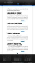clean blog layout by BARTIK13