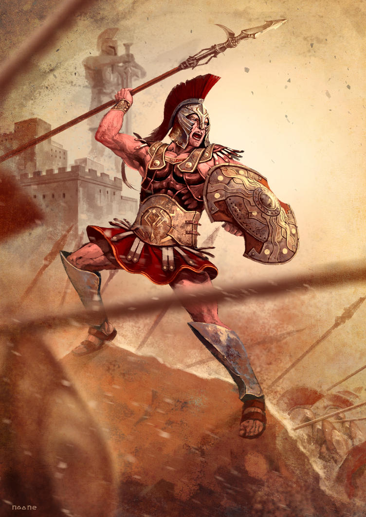 a report on the character of achilles in the iliad Achilles - the son of the military man peleus and the sea-nymph thetisthe most powerful warrior in the iliad, achilles commands the myrmidons, soldiers from his homeland of phthia in greece.