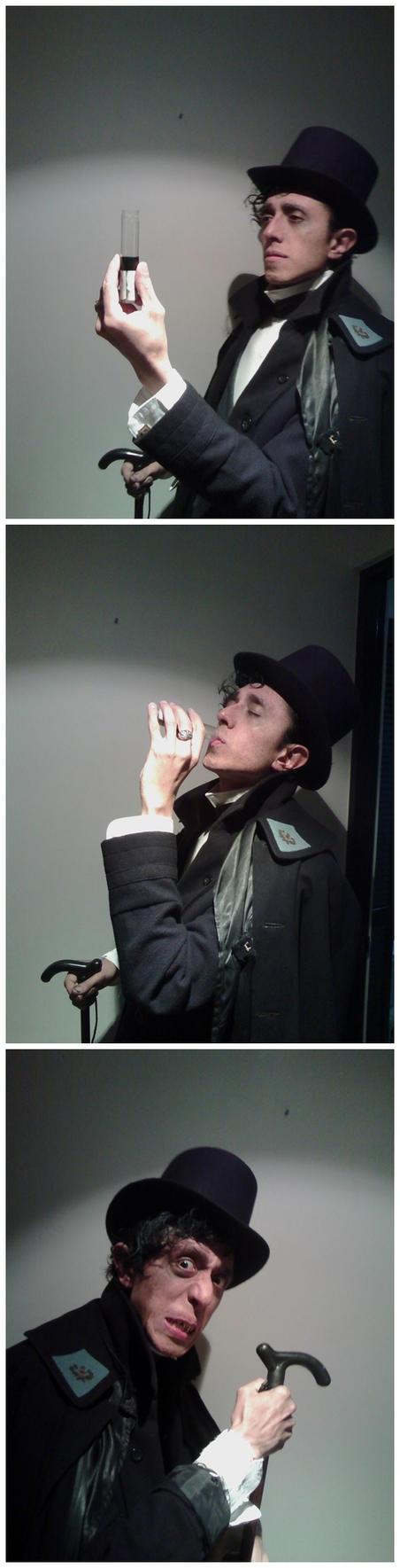 Jekyll and Hyde: transformation by trafalgarhero