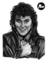 Commission 2 - Laura Branigan by M-art-works