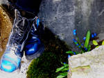 My Blue Boots