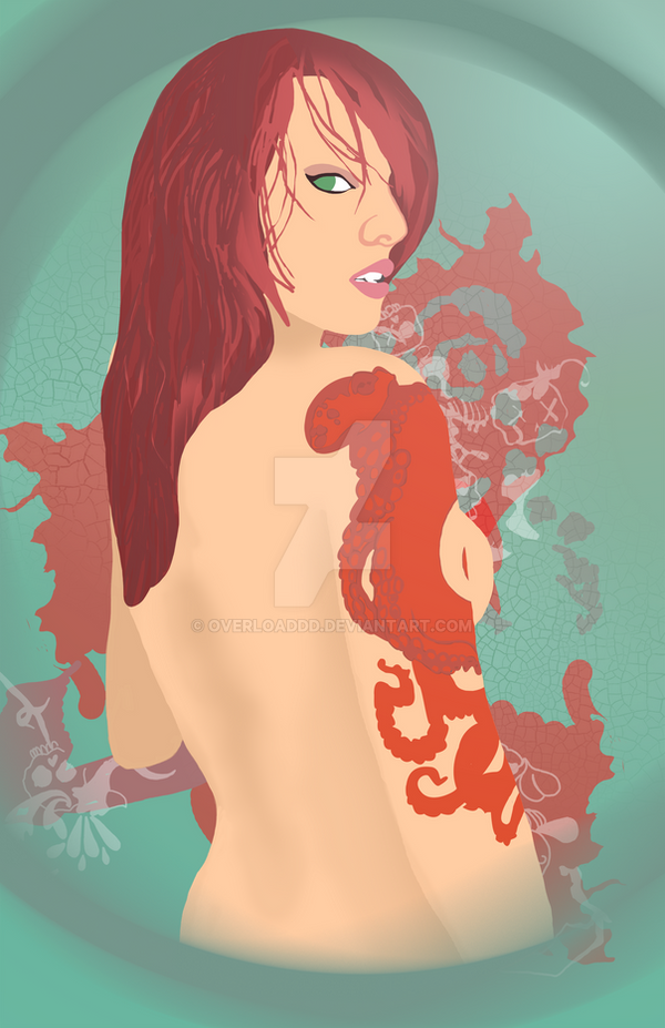Pin Up - Tentacles by overloaddd