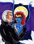 MacBeth and Demona by zombiechan