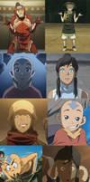 Avatar: Aang and Korra