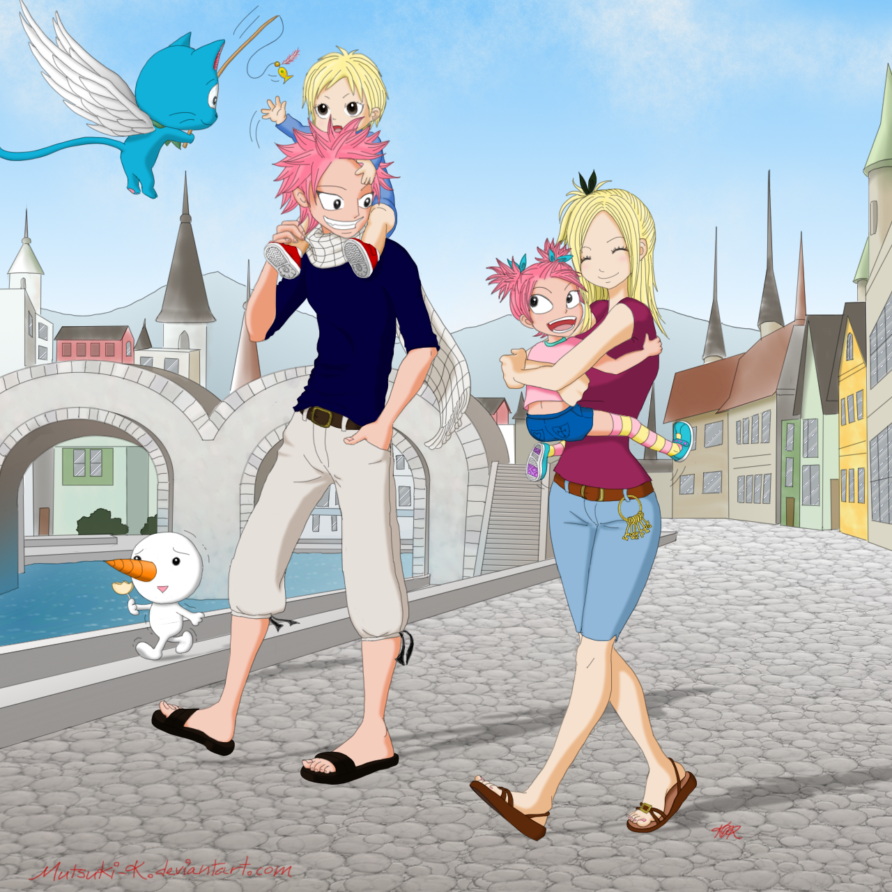 NaLu Family by Mutsuki...
