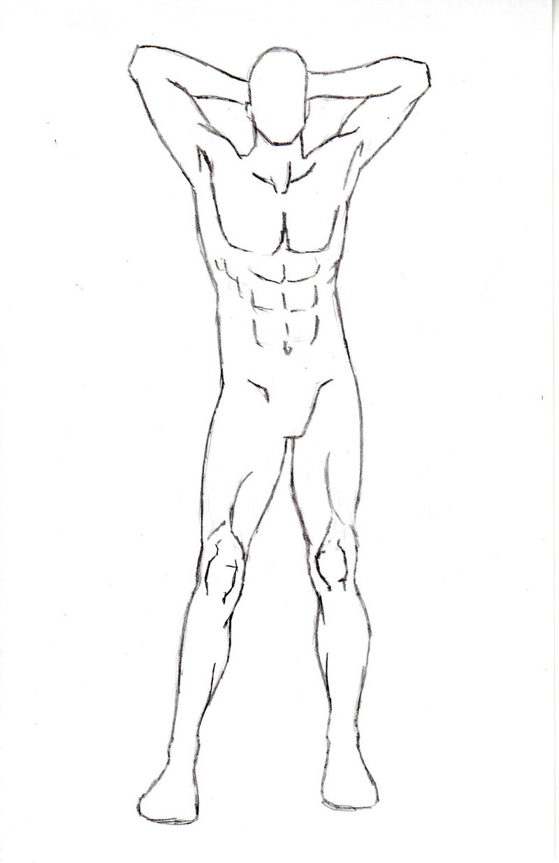 It's just an image of Transformative Male Body Drawing Base