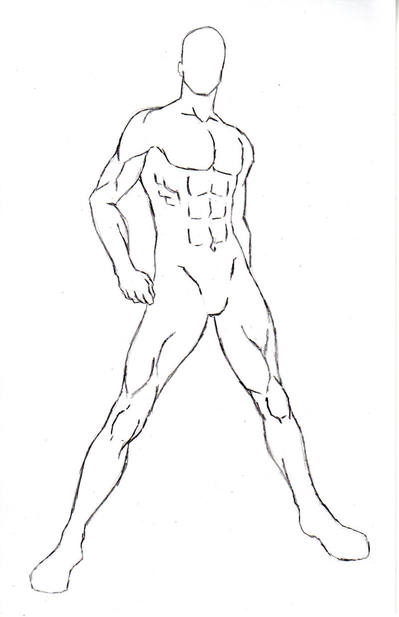 male pose reference