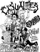Casualties Flyer by kamikuntzi