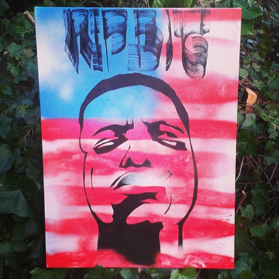 RIP Biggie smalls USA flag by IGAart on DeviantArt