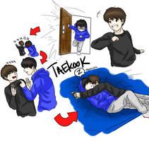 Taekook by dystalsketch