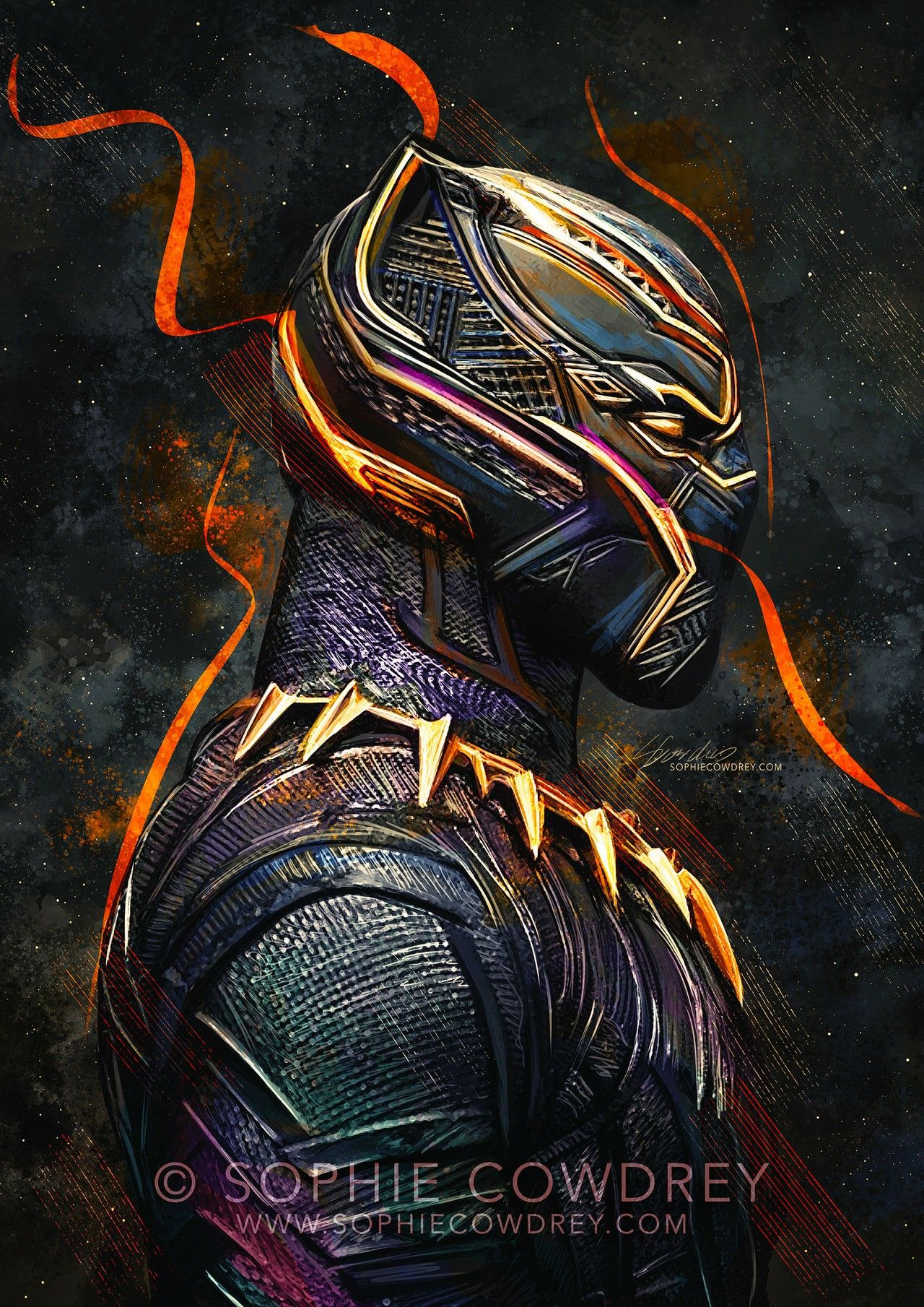 Erik Killmonger As The New Black Panther By Gumballfan333 On Deviantart