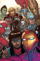 A Picture of the 'YOUNG AVENGERS'