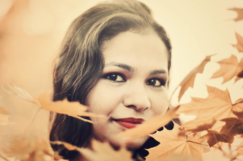 between the leaves by CasheeFoo