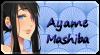 Support stamp - Ayame Mashiba by ZombieChocolate