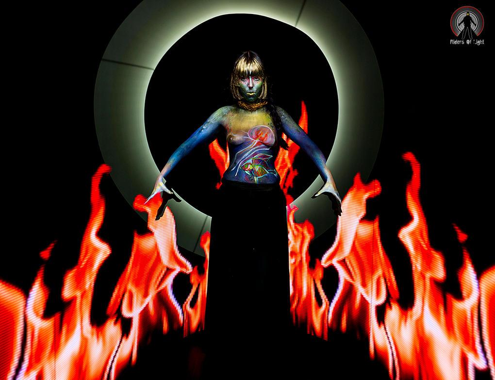 Firebender by xMorganaArTx