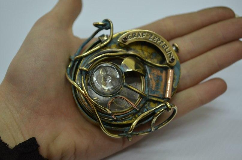 Steampunk Watch by kulik1