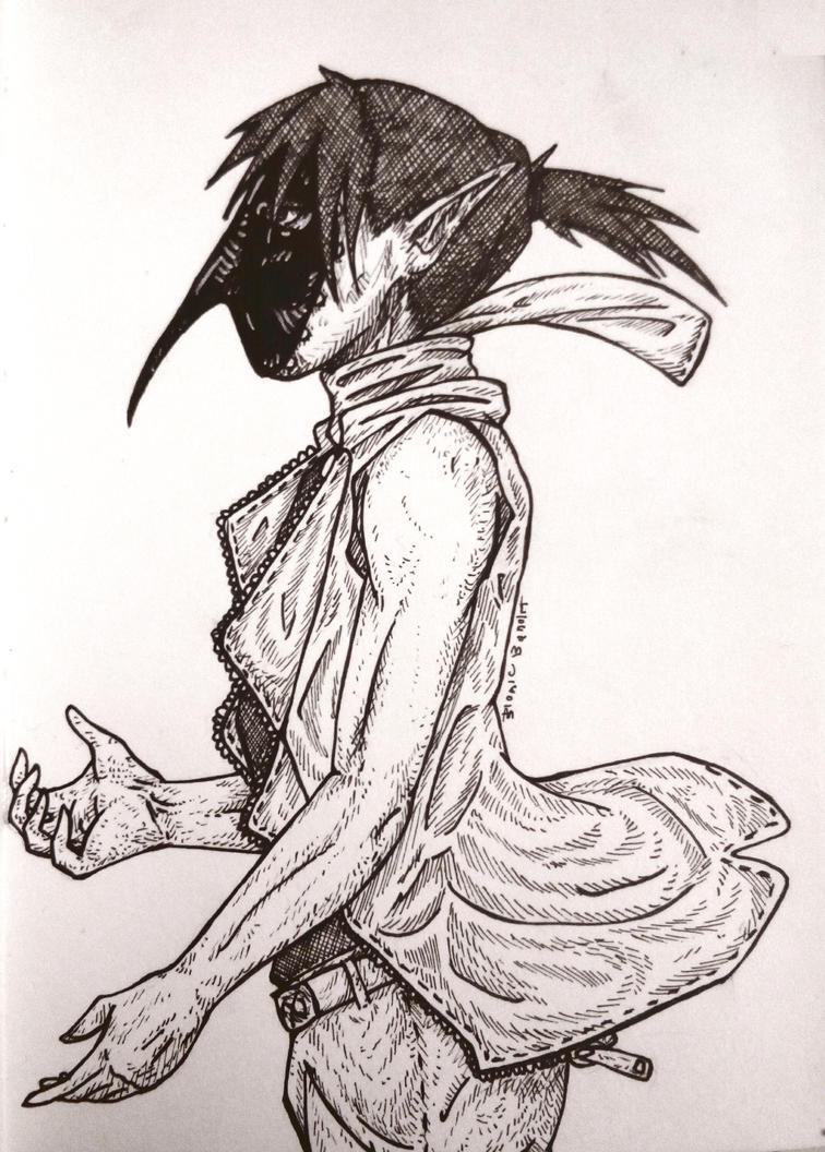 Black Ibis by BionicBandit