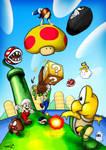 Mario, Luigi and Cecilia