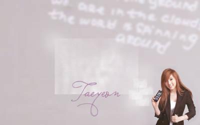 Taeyeon Wallpaper 1 by superjesster