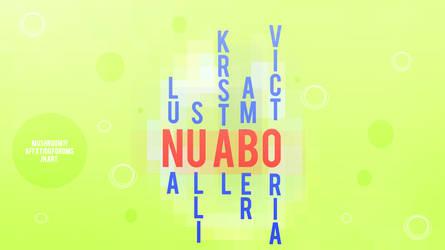 Nu ABO Typography by superjesster