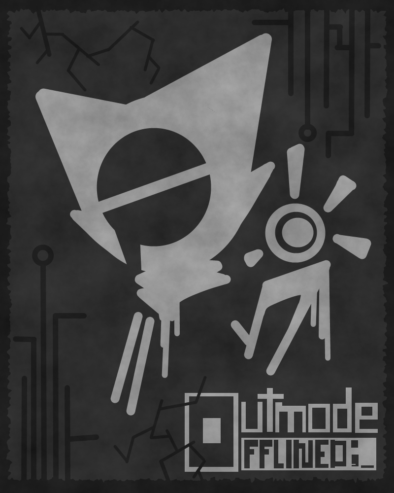 Outmode Offlined (Cover Art) by JamesTechno998