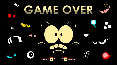 Game Over Screen - Project SatSoD (Mekaniko) by JamesTechno998