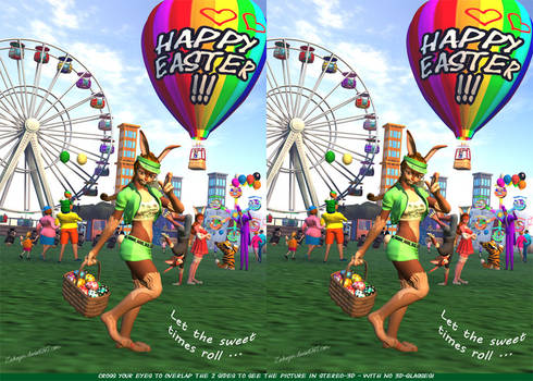 A Sweet Easter Is Comin In 3D
