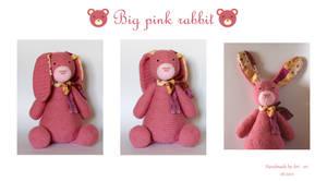 Big pink rabbit