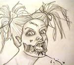 Zombie Gurl Closeup
