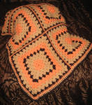 Chocolate Orange Blanket