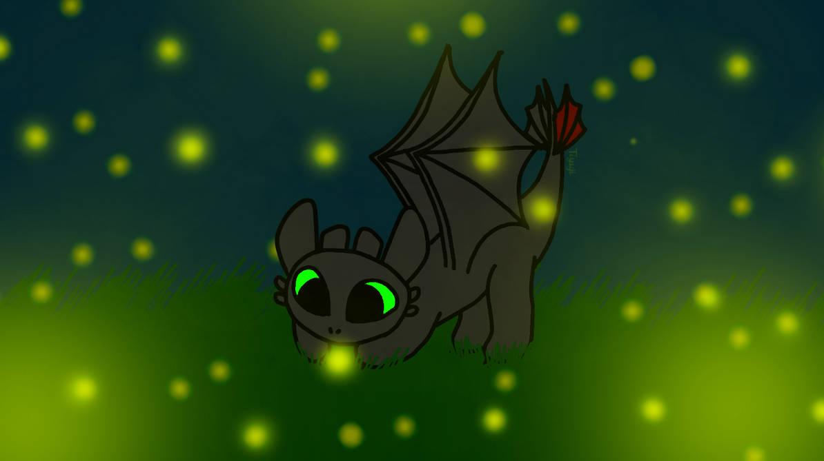 Night Lights: Toothless Wallpaper by Tiyuji ...