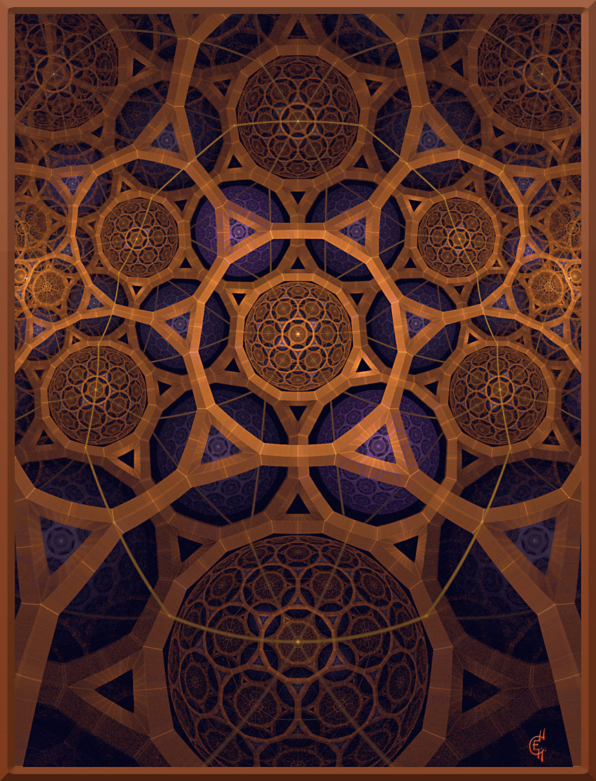 modern gothic fractal